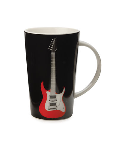Maxwell & Williams Christopher Vine Riff Mug-BLACK-One Size