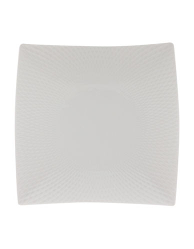 Maxwell & Williams Diamond Porcelain Side Plate-WHITE-One Size
