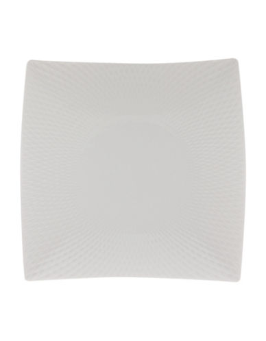 Maxwell & Williams Nine-Inch Diamond Porcelain Plate-WHITE-23