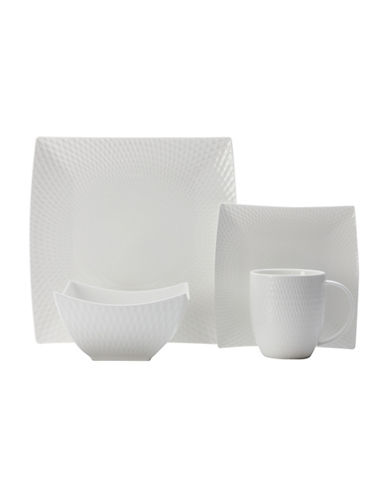 Maxwell & Williams Diamond 16-Piece Dinnerware Set-WHITE-One Size 88097558_WHITE_One Size