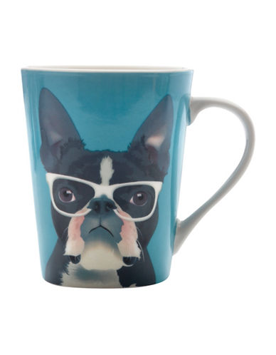 Maxwell & Williams Mob Fred Mug Set-BLUE-12.5