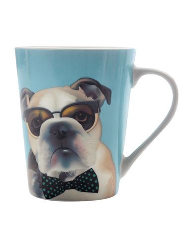 Maxwell & Williams Mob George Mug Set-BLUE-One Size