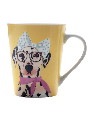Maxwell & Williams Mob Lady Mug Set-YELLOW-12.5