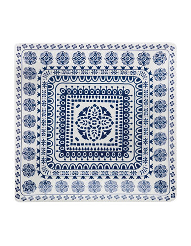 Maxwell & Williams Square Antico Platter-BLUE-One Size