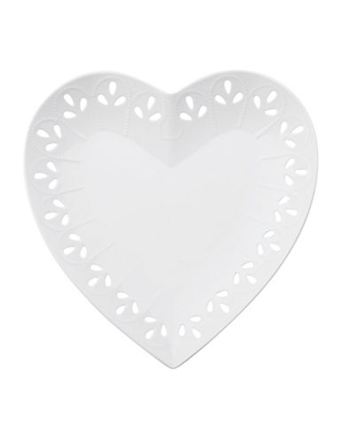 Maxwell & Williams Lille Heart Plate-WHITE-One Size