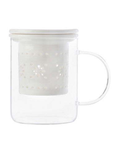 Maxwell & Williams Lille Infuser Mug-WHITE-One Size