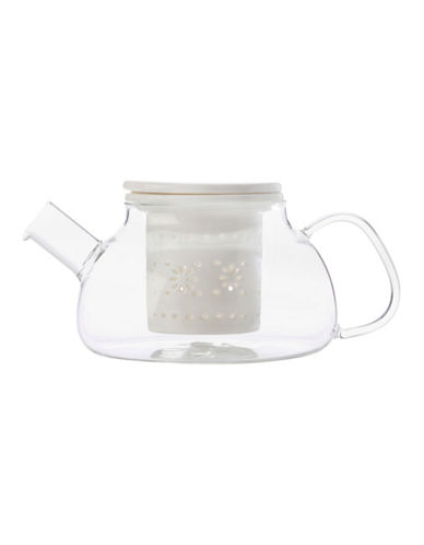Maxwell & Williams Lille Infuser Teapot-WHITE-One Size