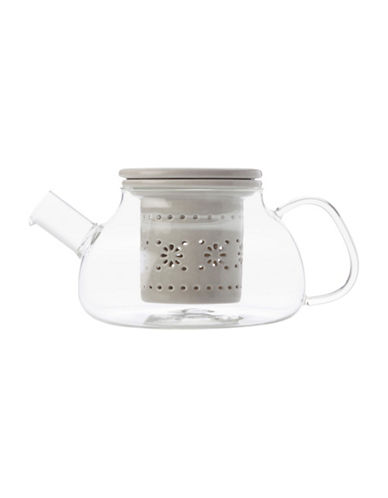 Maxwell & Williams Lille Infuser Teapot-GREY-One Size