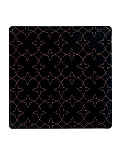 Maxwell & Williams Dark Opulence Aviary Tile Coaster-BLACK-One Size