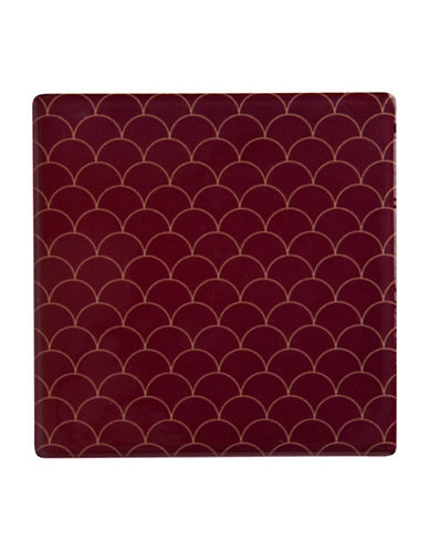 Maxwell & Williams Dark Opulence Neptune Coaster-RED-One Size