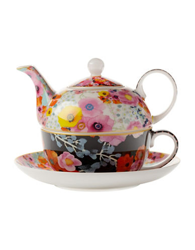 Maxwell & Williams Cashmere Bloems Tea For One Teapot- 400 ml-MULTI-One Size