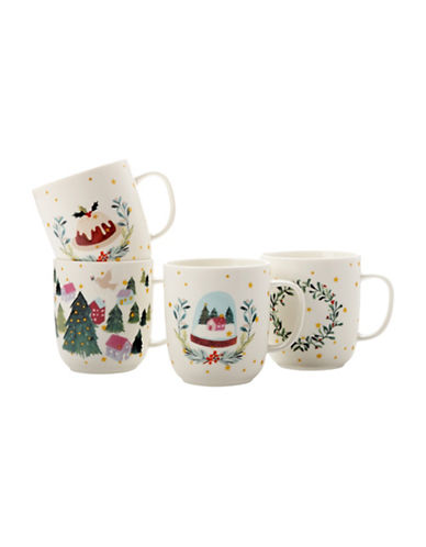Maxwell & Williams Lapland Four-Piece Mug Set-MULTI-One Size 89311636_MULTI_One Size