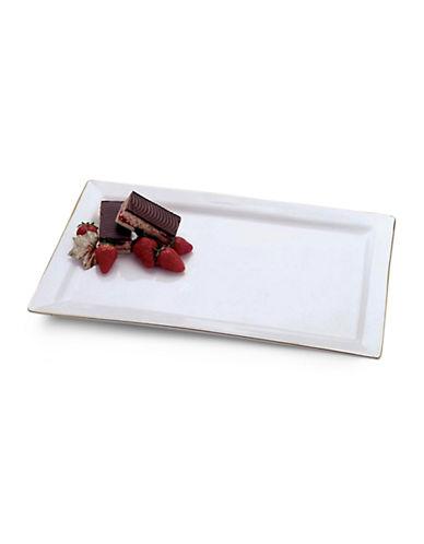 Maxwell & Williams Basics Rectangular Platter-WHITE-One Size