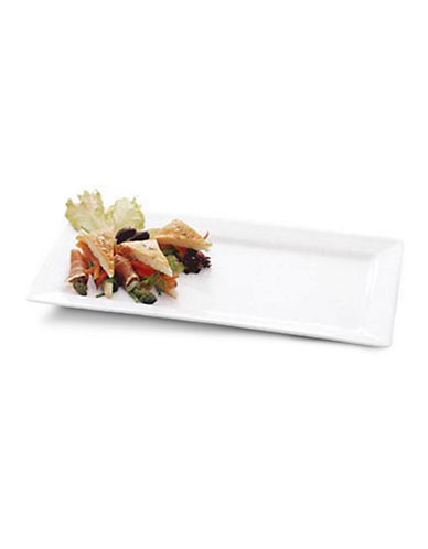 Maxwell & Williams Basics Sandwich Tray-WHITE-One Size
