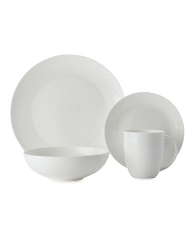 Maxwell & Williams Cashmere Coupe 16-Piece Dinner Set-WHITE-One Size 83689151_WHITE_One Size