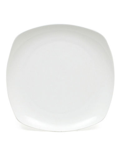 Maxwell & Williams Cashmere Square Coupe Dinner Plate-WHITE-One Size