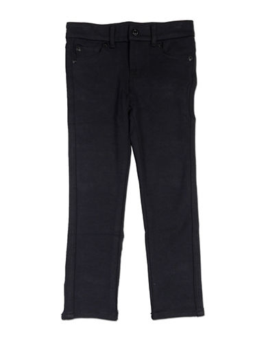 7 For All Mankind Skinny Ankle Jeans-BLACK-14