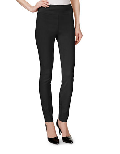Style And Co. Tummy Control Stretch Leggings-BLACK-Medium 88457122_BLACK_Medium