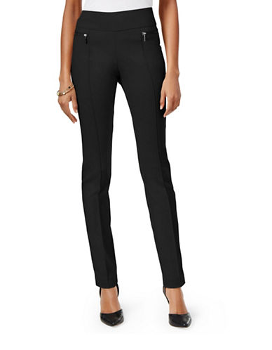 Style And Co. Skinny Pull-On Pants-BLACK-Small 88457125_BLACK_Small
