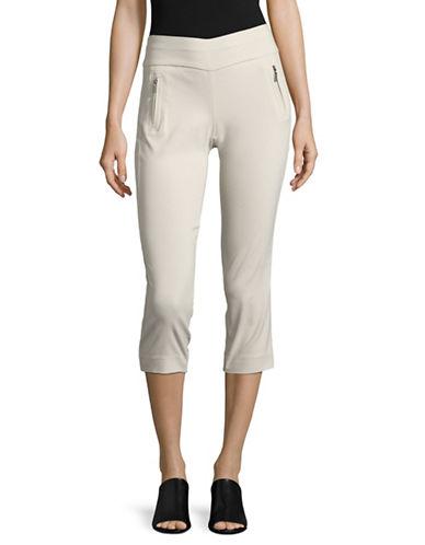 I.N.C International Concepts Petite Cropped Skinny Pants-BEIGE-Petite 8