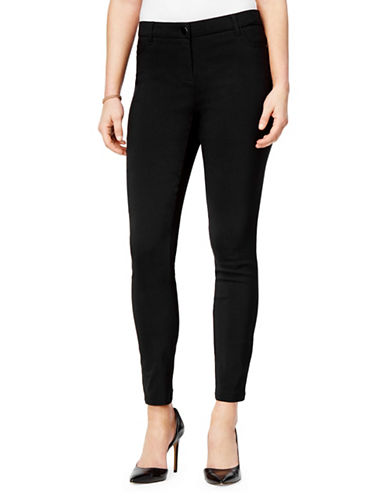 Style And Co. Mid-Rise Skinny Pants-BLACK-8