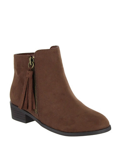 Mia Tatum Chelsea Boots-BROWN-13