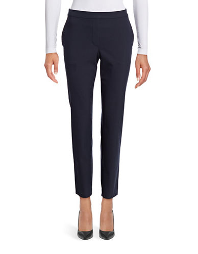 Theory Thaniel Slim Stretch Pants-BLUE-4