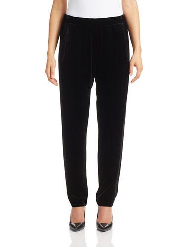 Theory Velvet Pull-On Pants-BLACK-Medium 87938294_BLACK_Medium