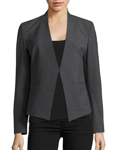 Theory Edition 5 Stretch Wool Jacket-GREY-0