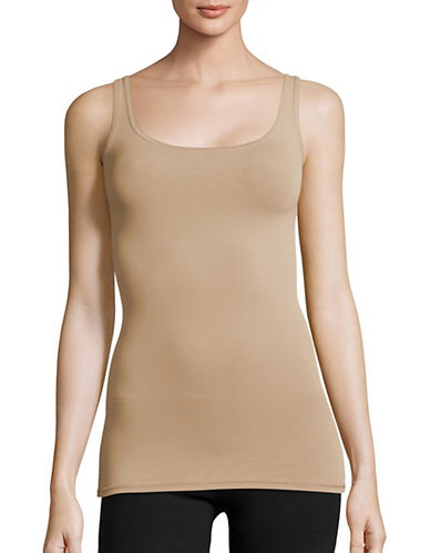 Theory Len Seamless Tank Top-NUDE-One Size