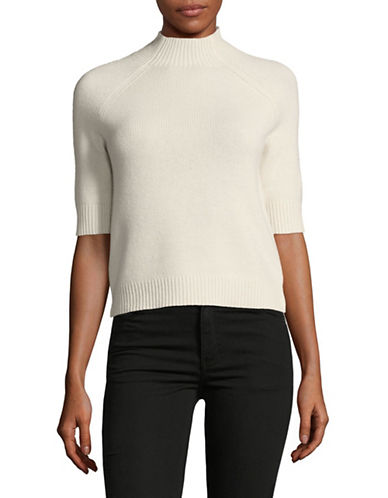 Theory Jodi Cashmere Top-IVORY-Medium
