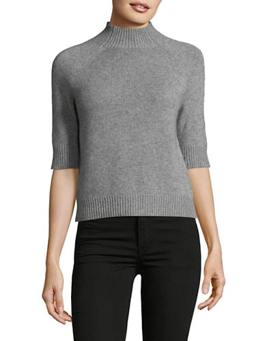 Theory Jodi Cashmere Top-GREY-Large