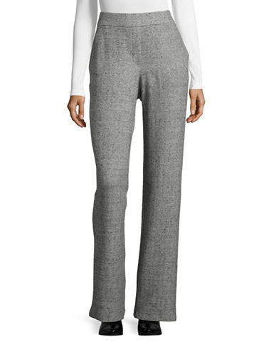 Theory Silk-Blend Pants-GREY-Small 88694880_GREY_Small