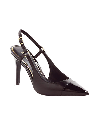 LAUREN RALPH LAUREN Aaliyah Slingback Pumps black Size 8