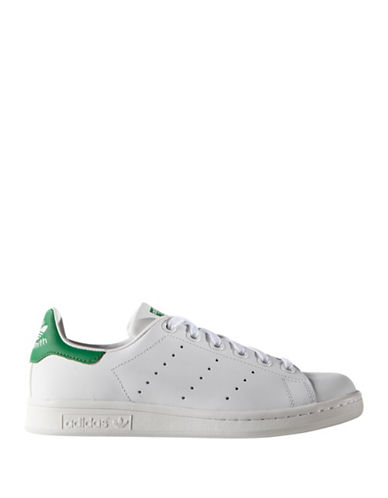 Adidas Superstar J Leather Sneakers-GREEN-5