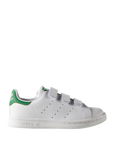 Adidas Stan Smith CF Leather Sneakers-WHITE-1