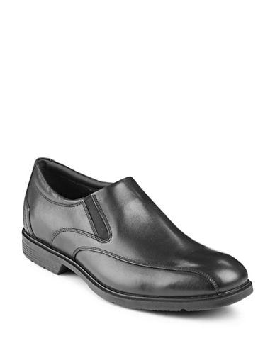 Rockport City Smart Leather Loafers-BLACK-11W