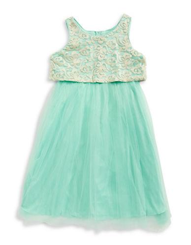 Emerald Sundae Tulle Ballerina Skirt-BLUE-7