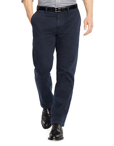 Polo Ralph Lauren Classic Fit Flat Front Chino Pant-AVIATOR NAVY-32X32