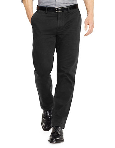 Polo Ralph Lauren Classic Fit Flat Front Chino Pant-POLO BLACK-30X30