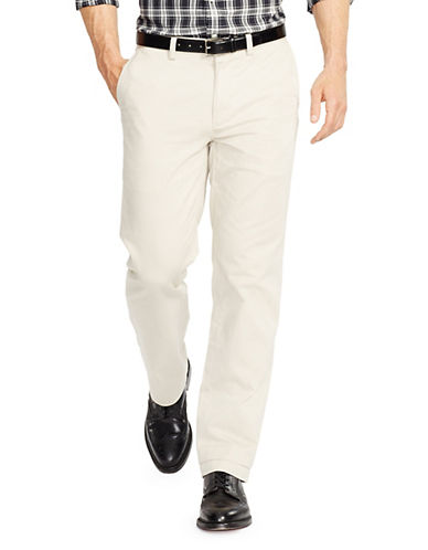 Polo Ralph Lauren Classic Fit Flat Front Chino Pant-CLASSIC STONE-38X30