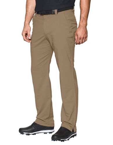 Under Armour UA Match-Play Golf Pants-BROWN-40X32 89098763_BROWN_40X32