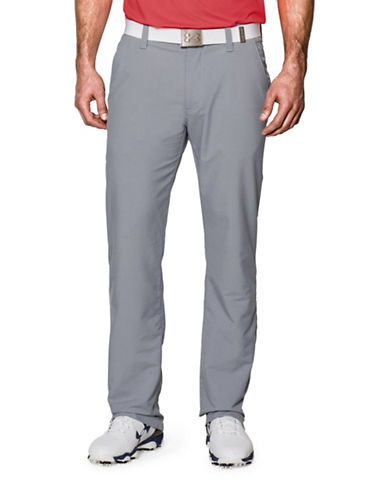 Under Armour Match Play Straight-Leg Pants-STEEL-38X32