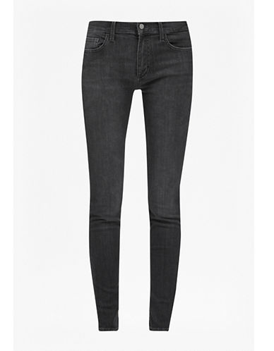 French Connection Rebound Skinny Jeans-GREY-6