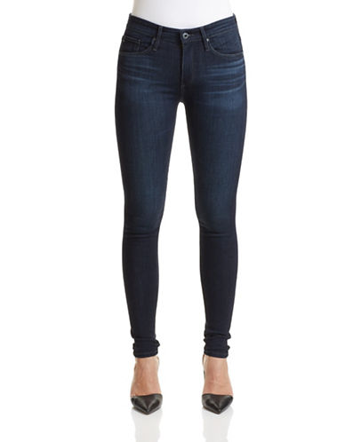 Ag Jeans The Farrah High Rise Skinny Jeans-BLUE-29