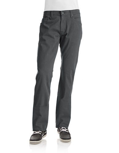 Ag Jeans The Graduate Tailored Leg Jeans-GREY-33X34