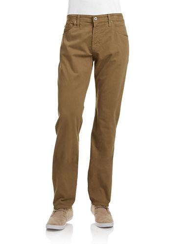 Ag Jeans The Graduate Tailored Leg Jeans-DARK WHEAT-34X34
