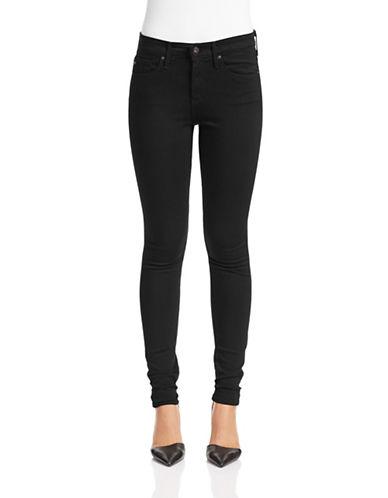 Ag Jeans Farrah Skinny Stretch Jeans-BLACK-25