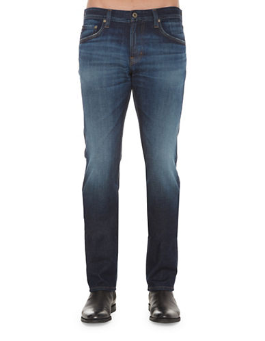 Ag Jeans Matchbox Landers Straight Leg Jeans-BLUE-38