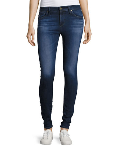 Ag Jeans Farrah Skinny Jeans-BLUE-32